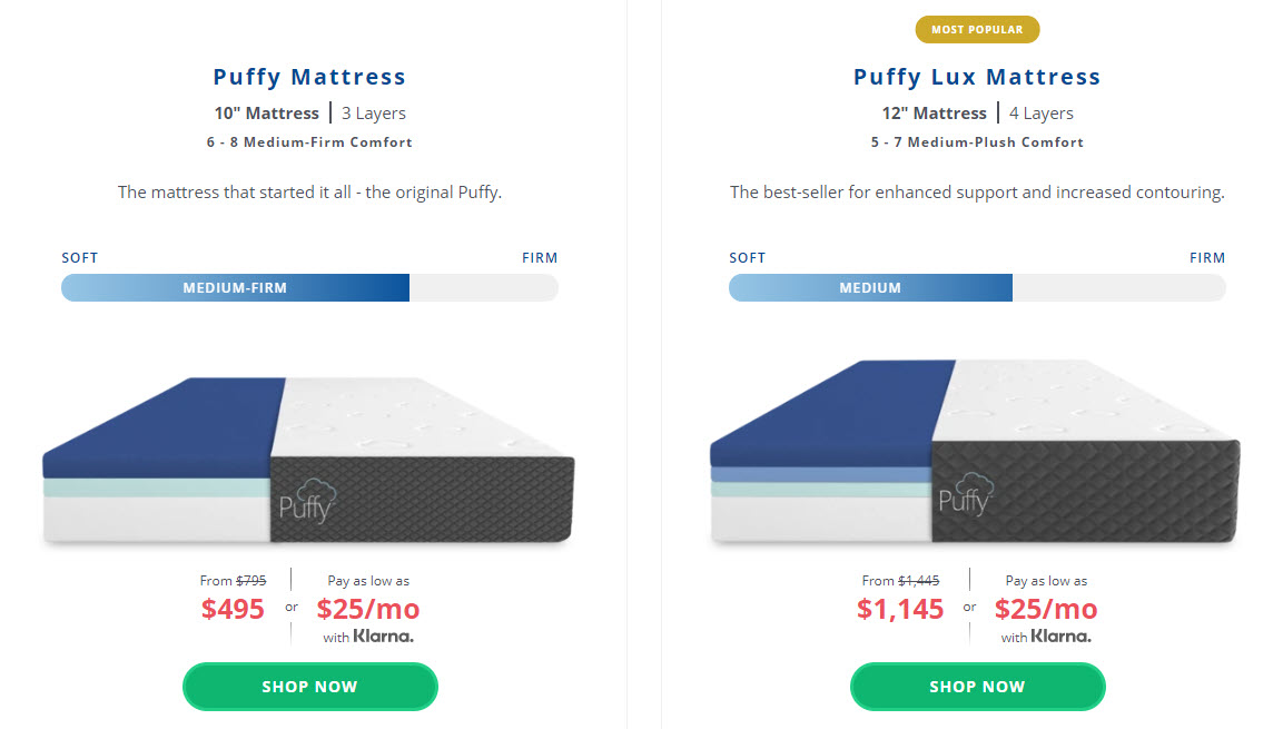 What sort of mattress is better for me?